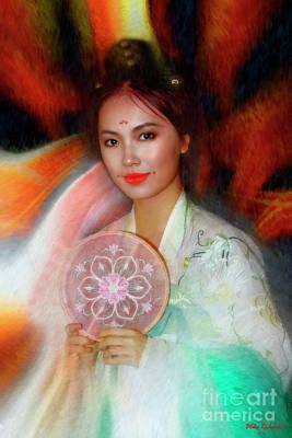 Photograph - Han Dynasty Girl by Blake Richards