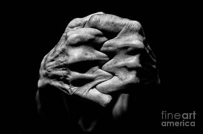 Photograph - Hands, Series I by Gazali