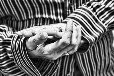 Photograph - Hands by Sharon Popek