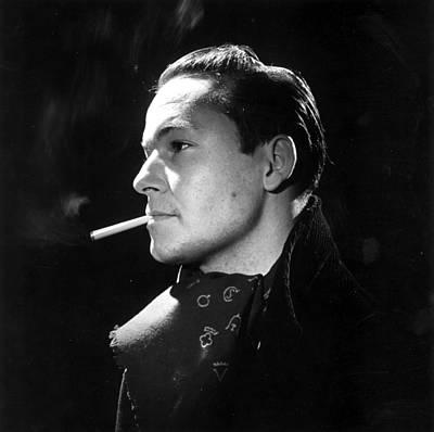 Photograph - Handsome Smoker by Baron