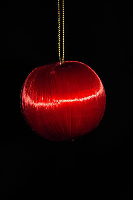 Photograph - Hanging Christmas Ornament by Jennifer Wick