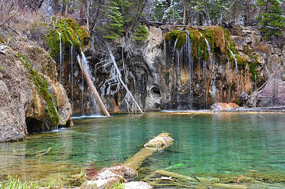 Mixed Media - Hanging Lake 1 by Angelina Vick