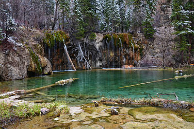 Mixed Media - Hanging Lake 2 by Angelina Vick