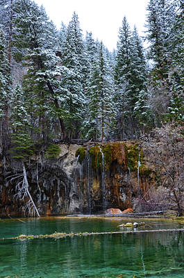 Mixed Media - Hanging Lake 4 by Angelina Vick