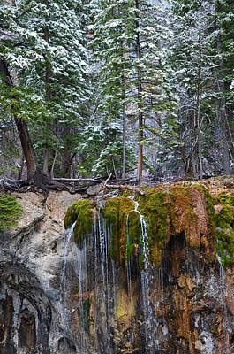 Mixed Media - Hanging Lake 5 by Angelina Vick