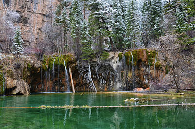 Mixed Media - Hanging Lake 6 by Angelina Vick