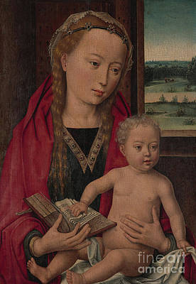 Painting - Hans Memling  Virgin And Child by Hans Memling
