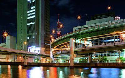Photograph - Hanshin Highway Route 1 Loop Route by Christinayan By Takahiro Yanai