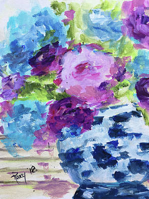 Impressionism Painting - Happiness by Roxy Rich