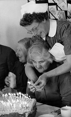 Photograph - Happy Birthday by Erich Auerbach