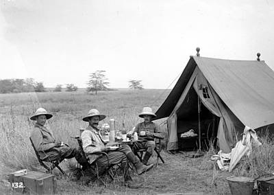Photograph - Happy Campers by A. Bayley-worthington
