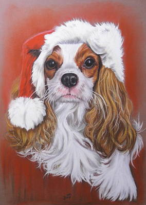 Pastel - Happy Christmas by Barbara Keith