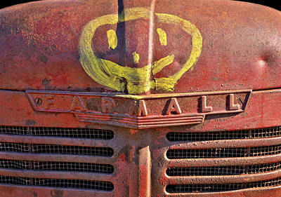 Photograph - Happy Farmall by Luke Moore