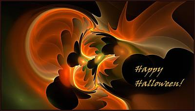 Digital Art - Happy Halloween by Doug Morgan