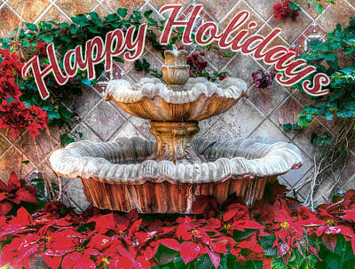 Photograph - Happy Holidays by Doc Braham