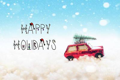 Photograph - Happy Holidays by Juli Scalzi