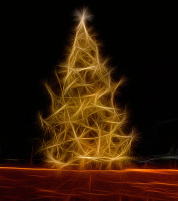 Photograph - Happy Holidays Tree by Louise Lindsay