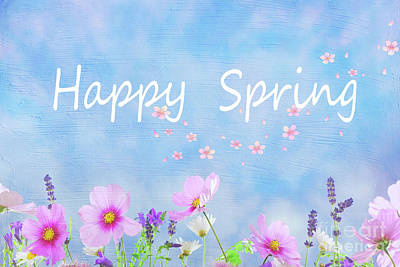 Photograph - Happy Spring by Juli Scalzi
