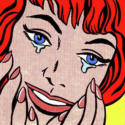 Photograph - Happy Tears By Roy Lichtenstein by Doc Braham - In Tribute to Roy Lichtenstein