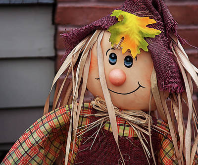 Photograph - Happy Thanksgiving Doll by Tatiana Travelways
