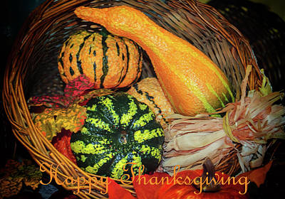 Photograph - Happy Thanksgiving by Tikvah's Hope