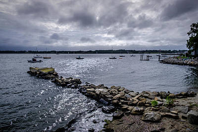 Photograph - Harbor Blues by Glenn DiPaola
