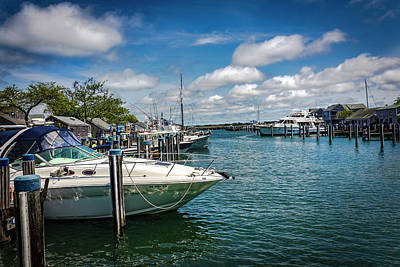 Photograph - Harbor In Nantucket Series 6494 by Carlos Diaz