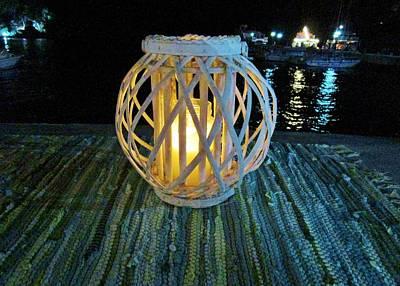 Photograph - Harbor Lantern by Rosita Larsson