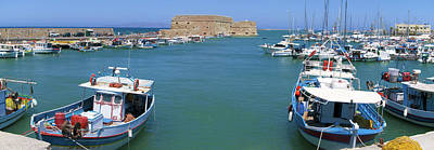 Photograph - Harbor Of Heraklion by Sun Travels