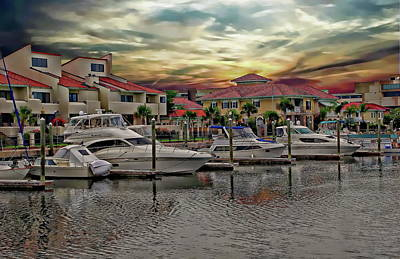 Photograph - Harbor View by Anthony Dezenzio