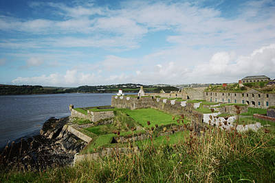 Photograph - Harbor View Of Charles Fort by Adstock/universal Images Group