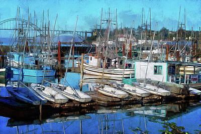 Photograph - Harbor View by Thom Zehrfeld