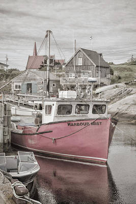 Photograph - Harbour Mist by WB Johnston