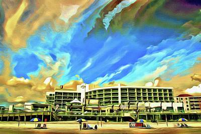 Photograph - Hard Rock Crazy Clouds by Alice Gipson