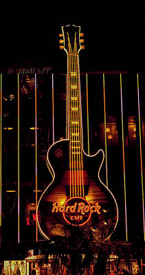 Photograph - Hard Rock Las Vegas by Kristia Adams
