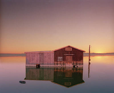 Photograph - Hardware Store Sinking Into The Salton by Ed Freeman