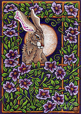 Painting - Hare Design 5 by Amy E Fraser