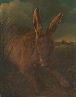 Painting - Hare Hunting by Philip Reinagle