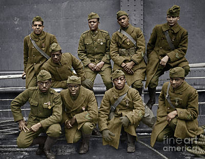 Photograph - Harlem Hellfighters by Granger