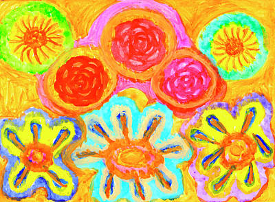 Painting - Harmonious And Inharmonious Worlds by Irina Dobrotsvet