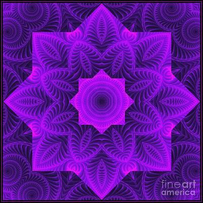 Digital Art - Harmony Tile Vp-8-7 by Doug Morgan