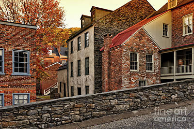 Photograph - Harpers Ferry Back Street by Lois Bryan