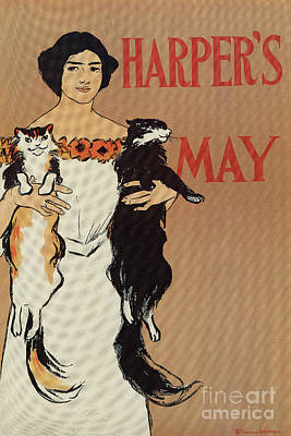Drawing - Harper's May 1898 by Aapshop