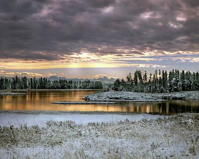 Photograph - Harriman Winter by Leland D Howard