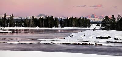 Photograph - Harriman Winter Light by Leland D Howard