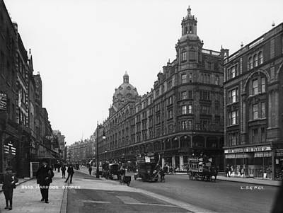 Harrods Department Store Art Print by London Stereoscopic Company