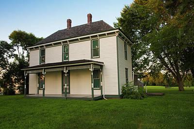 Katharine Hepburn - Harry S Truman Farm House by Kevin Whitworth
