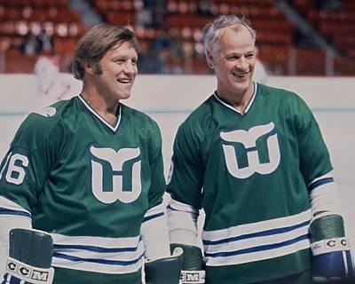 Photograph - Hartford Whalers V Montreal Canadiens by Denis Brodeur
