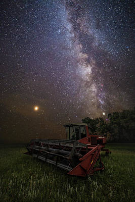 Photograph - Harvesting The Rift  by Aaron J Groen