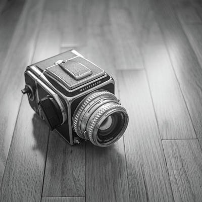 Photograph - Hasselblad On The Floor by Giovanni Arroyo